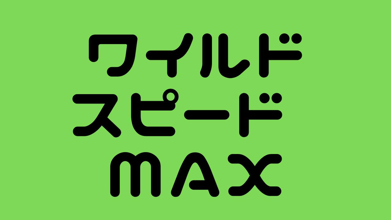 ワイルドスピード MAXの画像