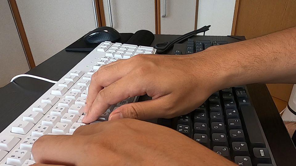 メカニカルキーボードの画像
