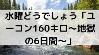 水曜どうでしょう「ユーコン160キロ~地獄の6日間~」の画像
