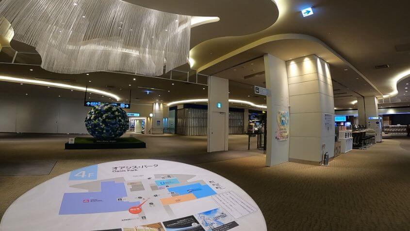 新千歳空港4階の画像