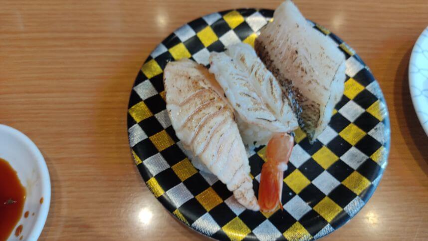 館山市の回転寿司やまとのメニューの画像