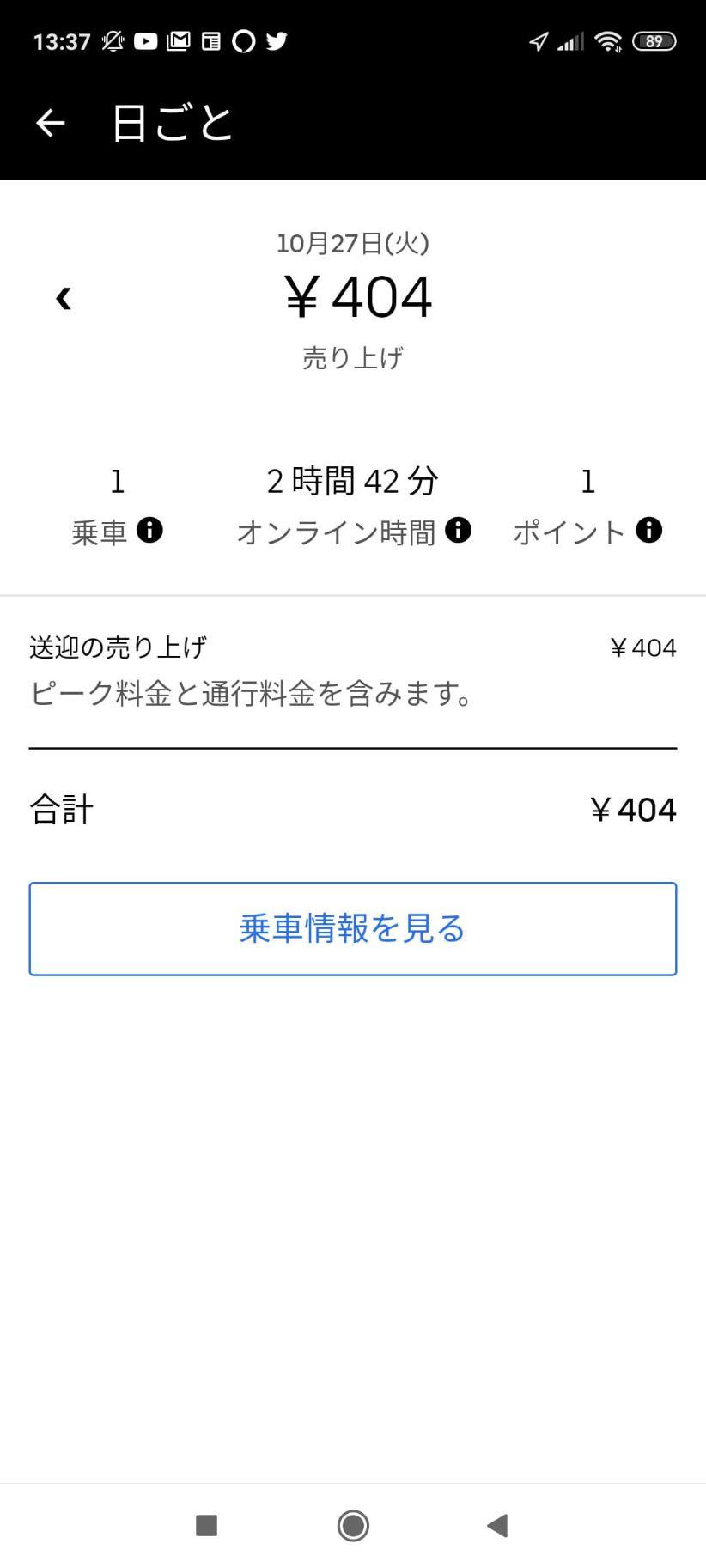Uber Eats(ウーバーイーツ)大宮稼働の画像