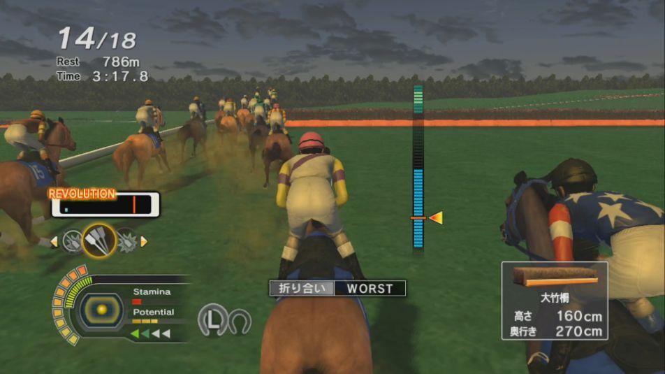 Champion Jockey Special (チャンピオンジョッキー)を30時間プレイした攻略レビュー&口コミ感想評価!switchの画像